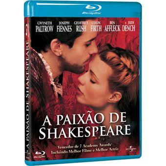 A Paixão de Shakespeare - Blu-ray