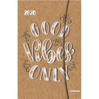 Agenda Semanal 12 Meses, 2020 TeNeues - Good Vibes Only