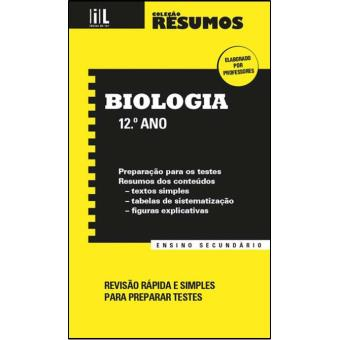 Resumos de Biologia - 12º Ano