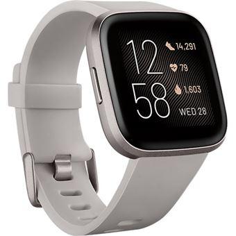 Relógio Desporto Fitbit Versa 2 - Stone | Mist Grey Aluminium