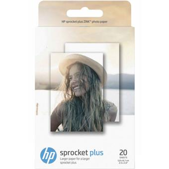 Papel Foto HP para Sprocket Plus - 20 folhas