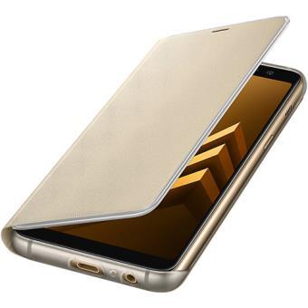 Capa Flip Samsung Neon para Galaxy A8 2018 - Dourado