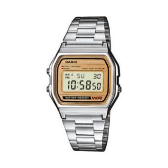 Casio Relógio Collection A158WEA-9EF (Prateado/Dourado)