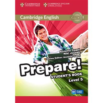 Cambridge English Prepare! Level 5 - Student's Book