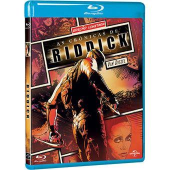 As Crónicas de Riddick - Blu-ray