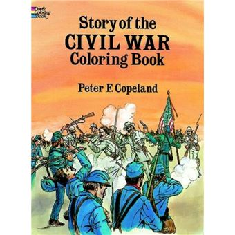 Story of the civil war colouring bo