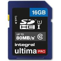 Integral Cartão SD UltimaPRO 16GB 80MB/s Classe 10