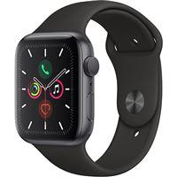 Apple Watch Series 5 44mm - Alumínio Cinzento | Bracelete Desportiva - Preto