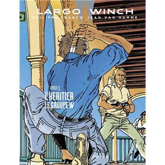 Largo Winch - Diptyques - tome 1 - Diptyque Largo Winch 1/10