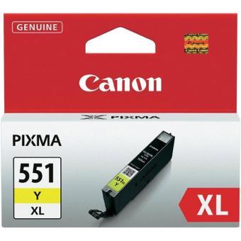 Canon Tinteiro CLI-551XL Amarelo