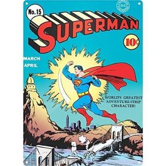 Superman - Poster Metálico Zap