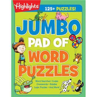 Jumbo pad of word puzzles