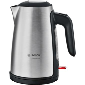 Bosch TWK6A813 1.7l 2400W Preto, Inox chaleira elétrica