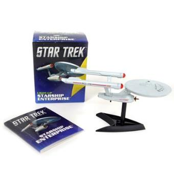 Mini Kit Star Trek: Light Up Starship Enterprise + Book
