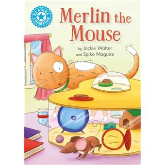 Reading champion: merlin the mouse