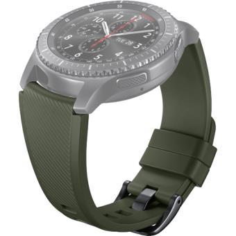 Bracelete Silicone Samsung para Gear S3 - Verde Cáqui