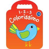 1-2-3 Colorissimo - Pássaro + 4 Anos