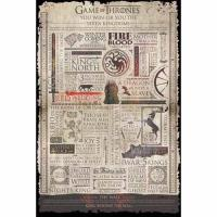Poster Games of Thrones (Infographic)