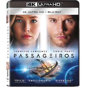 Passageiros (4K Ultra HD + Blu-ray)