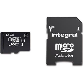 Integral Cartão microSD UltimaPRO 64GB 90MB/s Classe 10