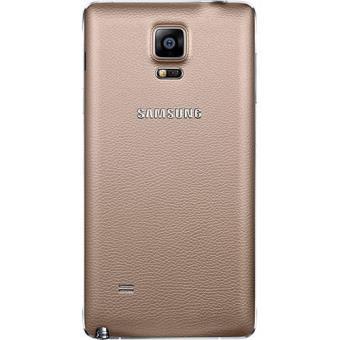 185e81a1c Samsung Capa para Samsung Note 4 (Dourada) - Bolsa Telemóvel ...