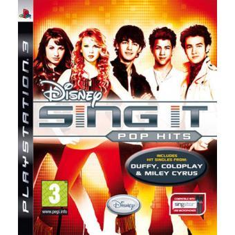 Disney Sing It: Pop Hits PS3