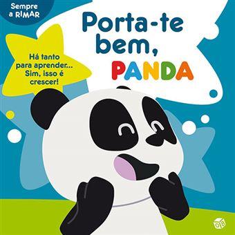 Porta-te Bem, Panda: Livro de Histórias Oferta de Quadro e Autocolantes