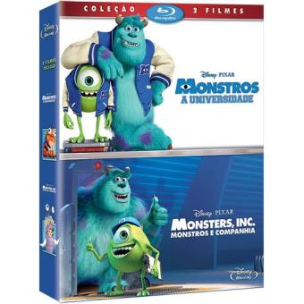 Pack Monstros e Cª + Monstros, a Universidade
