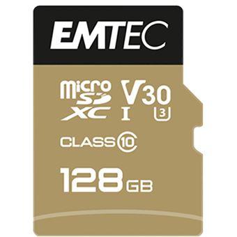 Cartão microSDXC Emtec SpeedIN Pro Classe 10 - 128GB