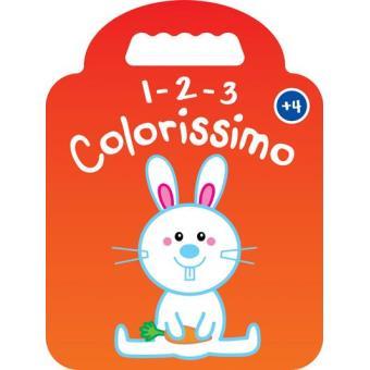 1-2-3 Colorissimo - Coelho + 4 Anos