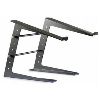 Suporte Stagg DJ Pro Laptop Metal Black Solid Adjustable Stand