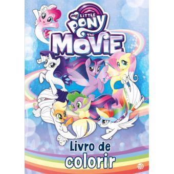 my little pony the movie livro de colorir vários compra