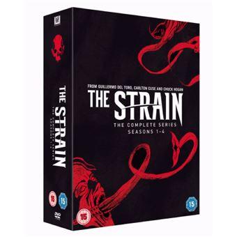 Strain - Season 1-4 - DVD Importação
