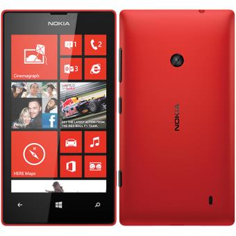 a89d6a0834079 Smartphone Nokia Lumia 520 (Red) - SmartPhone Windows - Compra na ...