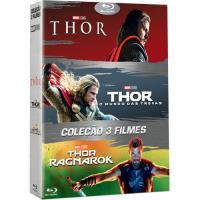 Pack Thor + Thor: O Mundo das Trevas + Thor Ragnarok - Blu-ray