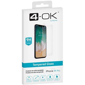 Película Ecrã Vidro Temperado 4-OK para iPhone 11 Pro