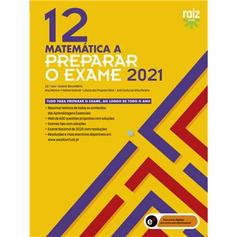 Preparar o Exame 2020 - Matemática A 12º Ano