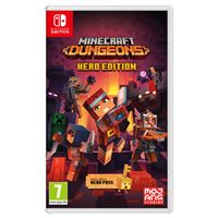 Minecraft Dungeons: Hero Edition - Nintendo Switch
