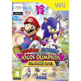 Mario & Sonic Nos Jogos Olímpicos Londres 2012 Wii
