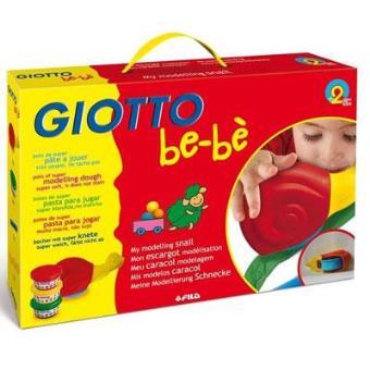 Plasticina e Caracol Modelador Giotto Be-Bè