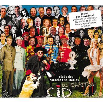 Clube dos Corações Solitários do Capitão Cid - CD + DVD + Pen