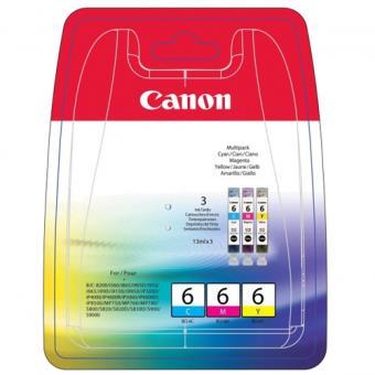Canon Tinteiros Multipack BCI-6 Ciano/Magenta/Amarelo