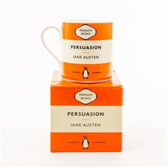 Caneca Persuasion Penguin Books - Laranja