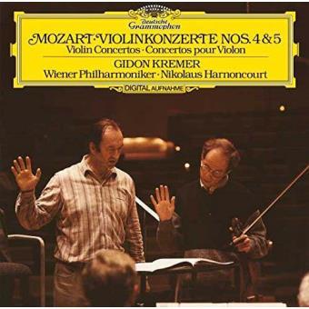 Mozart: Violin Concertos Nos. 4 & 5 (LP)