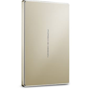 Disco Externo Lacie Porsche Design USB-C 2TB - 2,5'' - Gold