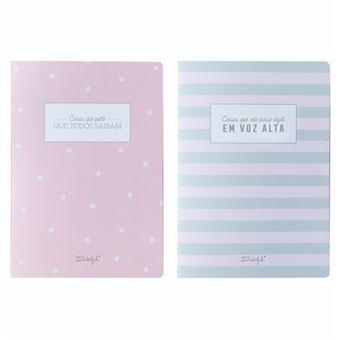 Cadernos Mr. Wonderful - Para Mentes Inquietas - 2 Unidades