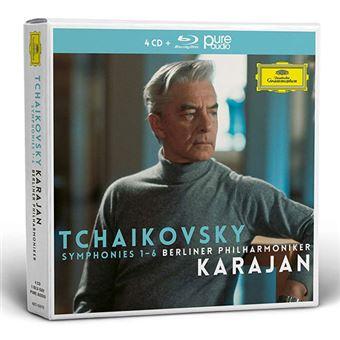 Tchaikovsky: The Symphonies - 4CD + Blu-ray