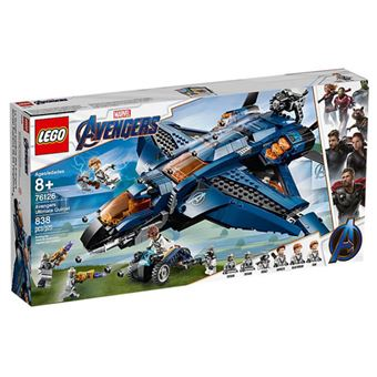 LEGO Marvel Avengers Movie 4 76126 O Quinjet dos Vingadores