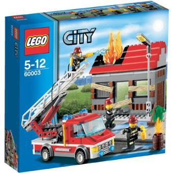 Chamada de Emergência (LEGO City Bombeiros 60003)