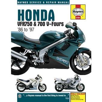 Honda vfr750 & 700 v-fours